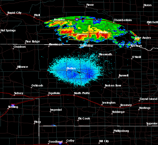 Radar Image for Severe Thunderstorms near Mission, SD at 8/10/2020 4:21 AM CDT