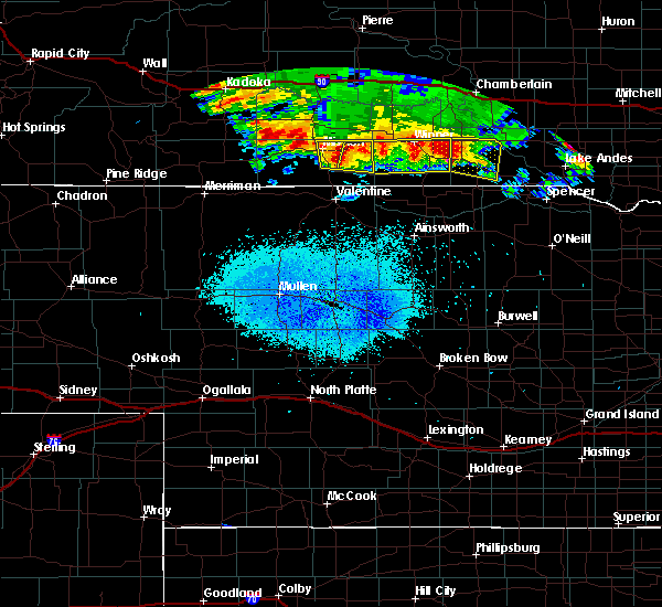 Radar Image for Severe Thunderstorms near Herrick, SD at 8/10/2020 4:25 AM CDT