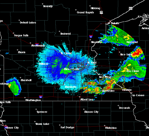 Radar Image for Severe Thunderstorms near Dodge Center, MN at 8/10/2020 5:41 AM CDT