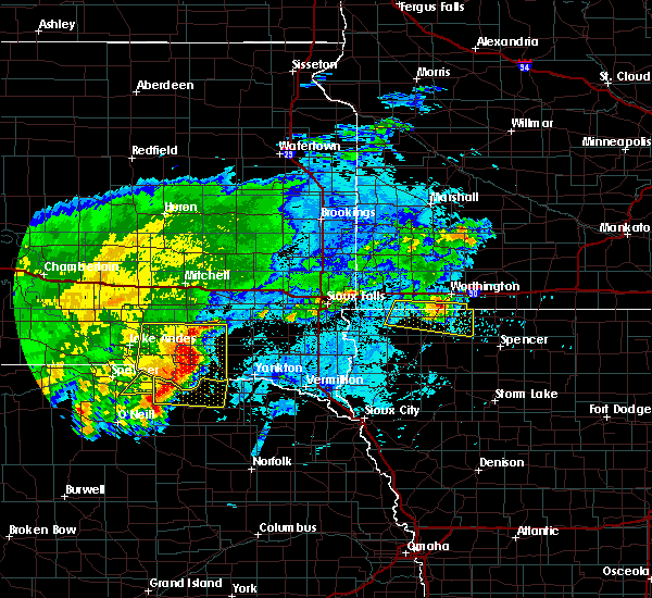 Radar Image for Severe Thunderstorms near Lindy, NE at 8/10/2020 6:31 AM CDT
