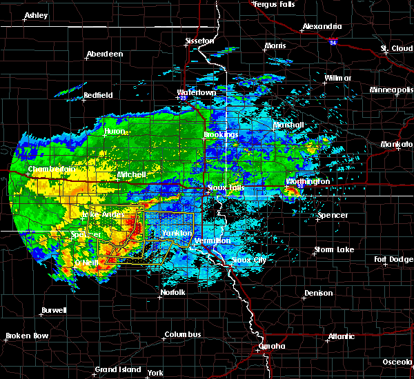 Radar Image for Severe Thunderstorms near Lindy, NE at 8/10/2020 6:44 AM CDT