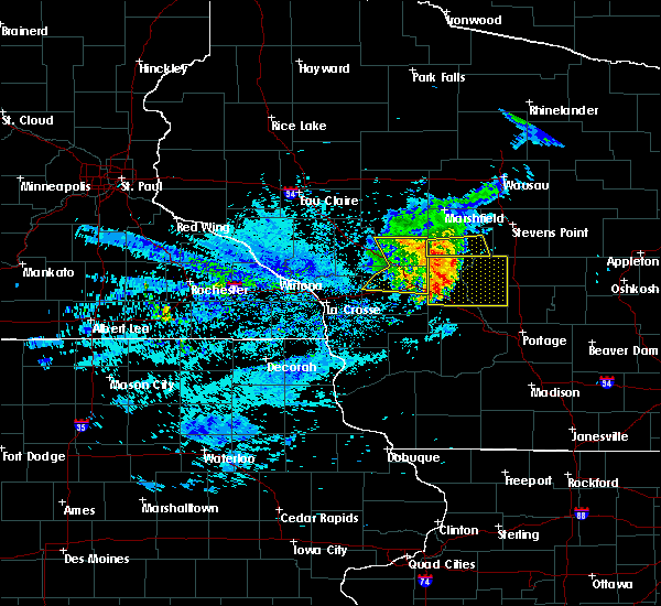 Radar Image for Severe Thunderstorms near Mauston, WI at 8/10/2020 7:42 AM CDT