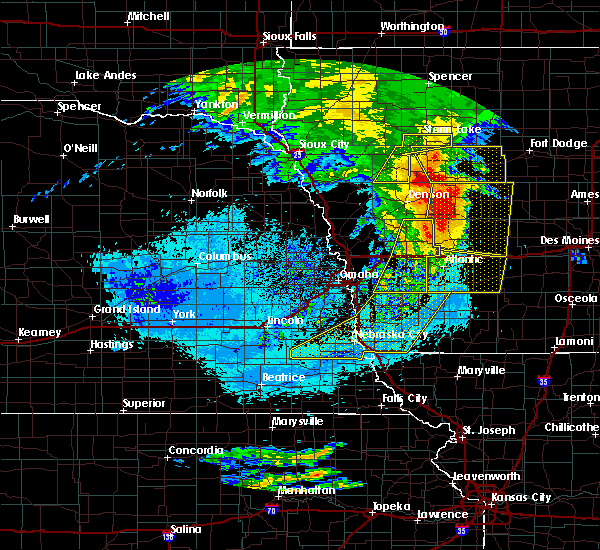 Radar Image for Severe Thunderstorms near Syracuse, NE at 8/10/2020 9:56 AM CDT