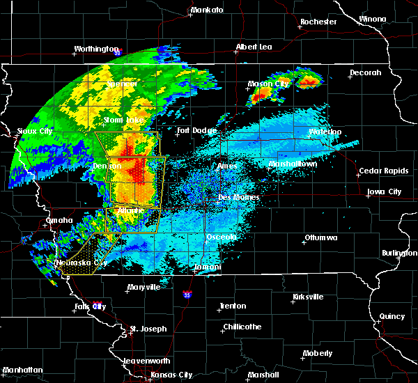 Radar Image for Severe Thunderstorms near De Soto, IA at 8/10/2020 10:14 AM CDT
