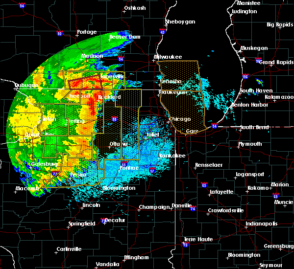 Radar Image for Severe Thunderstorms near Kingston, IL at 8/10/2020 2:46 PM CDT