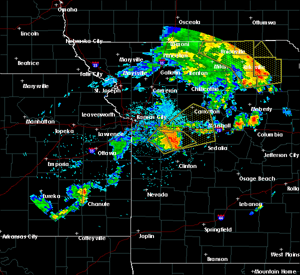 Radar Image for Severe Thunderstorms near Centerview, MO at 8/10/2020 2:47 PM CDT
