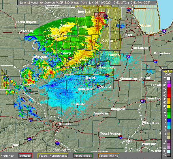 Radar Image for Severe Thunderstorms near Mapleton, IL at 8/10/2020 2:59 PM CDT