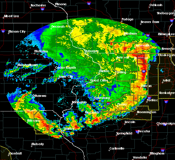 Radar Image for Severe Thunderstorms near South Gorin, MO at 8/10/2020 3:12 PM CDT