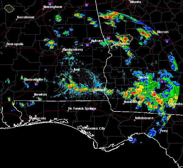 Radar Image for Severe Thunderstorms near Enterprise, AL at 8/10/2020 4:08 PM CDT