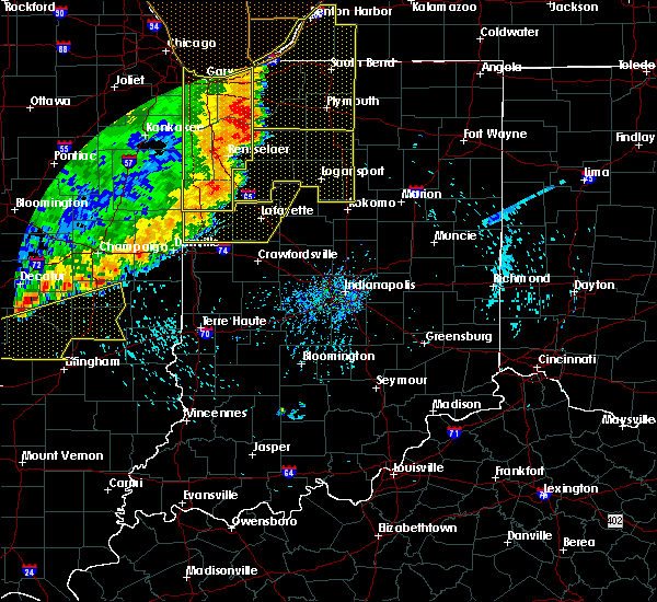 Radar Image for Severe Thunderstorms near Hillsboro, IN at 8/10/2020 5:53 PM EDT