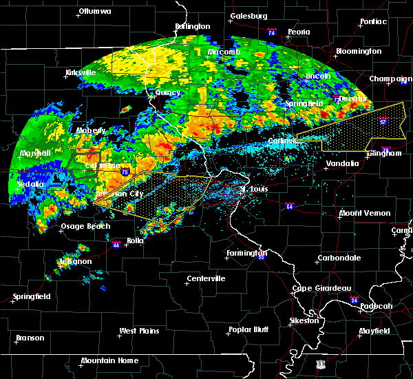 Radar Image for Severe Thunderstorms near Truxton, MO at 8/10/2020 4:59 PM CDT