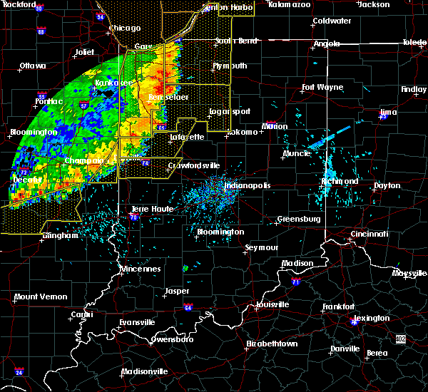 Radar Image for Severe Thunderstorms near Westfield, IL at 8/10/2020 4:58 PM CDT