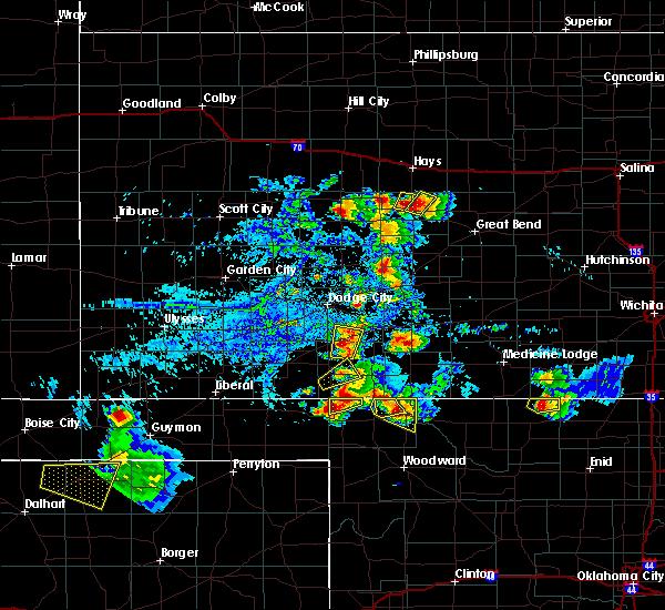 Radar Image for Severe Thunderstorms near Gate, OK at 8/10/2020 5:34 PM CDT