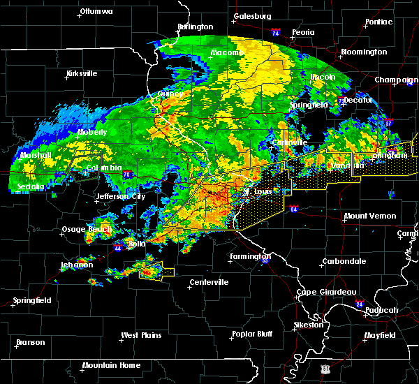 Radar Image for Severe Thunderstorms near Berkeley, MO at 8/10/2020 6:15 PM CDT