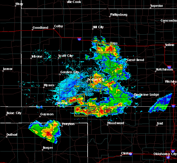 Radar Image for Severe Thunderstorms near Ellis, KS at 8/10/2020 6:25 PM CDT