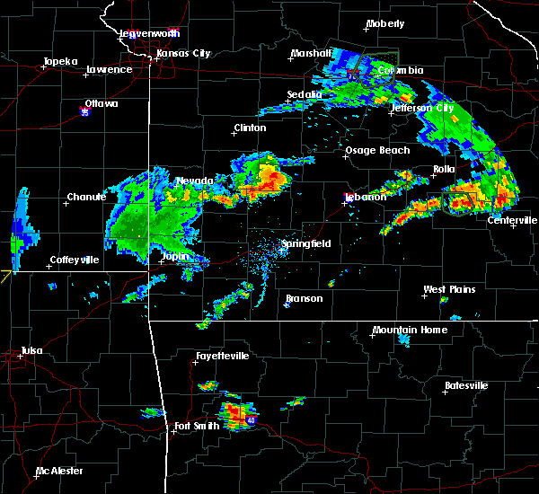 Radar Image for Severe Thunderstorms near Urbana, MO at 8/10/2020 6:57 PM CDT