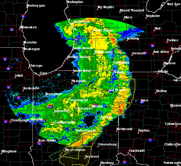 Radar Image for Severe Thunderstorms near Coldwater, OH at 8/10/2020 8:26 PM EDT