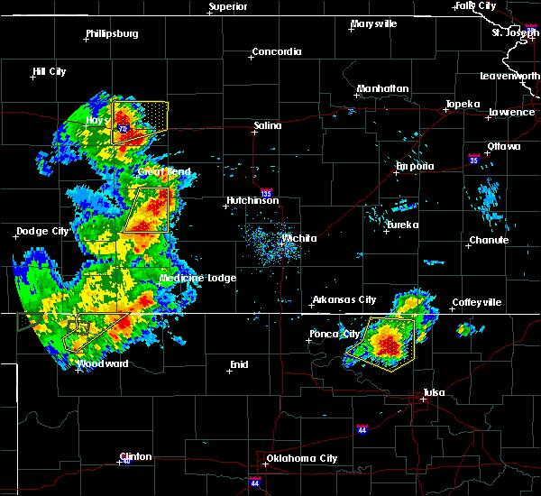 Radar Image for Severe Thunderstorms near Willowbrook, KS at 8/10/2020 7:31 PM CDT