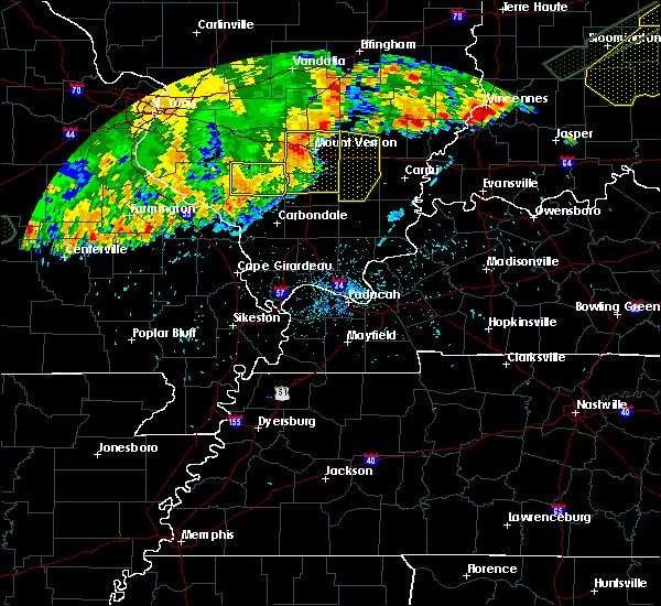 Radar Image for Severe Thunderstorms near Alto Pass, IL at 8/10/2020 7:39 PM CDT