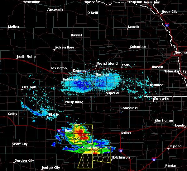 Radar Image for Severe Thunderstorms near Dorrance, KS at 8/10/2020 7:41 PM CDT