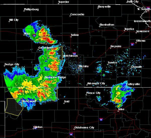 Radar Image for Severe Thunderstorms near Raymond, KS at 8/10/2020 8:17 PM CDT