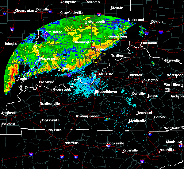 Radar Image for Severe Thunderstorms near Hardinsburg, IN at 8/10/2020 9:27 PM EDT