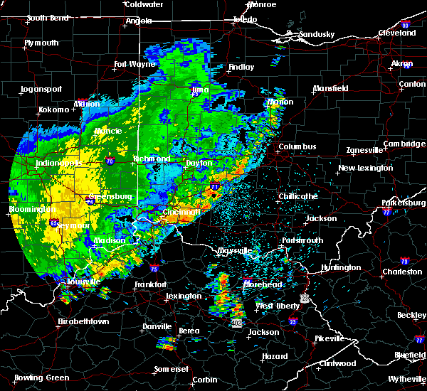 Radar Image for Severe Thunderstorms near Midland, OH at 8/10/2020 10:56 PM EDT