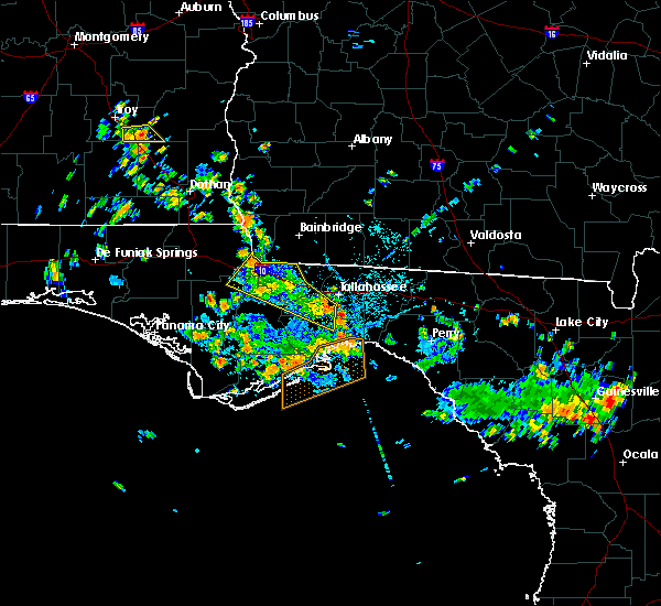Radar Image for Severe Thunderstorms near Midway, FL at 8/11/2020 2:14 PM EDT