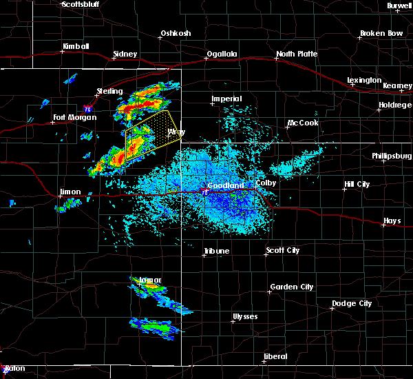 Radar Image for Severe Thunderstorms near Grant, NE at 8/11/2020 4:26 PM MDT