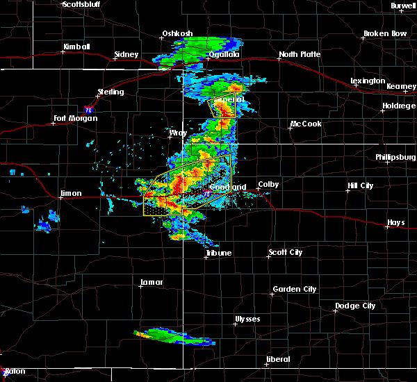 Radar Image for Severe Thunderstorms near Bird City, KS at 8/11/2020 5:36 PM MDT