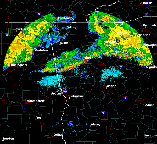 Radar Image for Severe Thunderstorms near Whitesburg, GA at 7/3/2015 9:34 AM EDT
