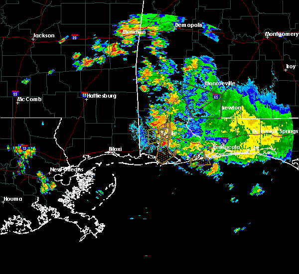 Radar Image for Severe Thunderstorms near Spanish Fort, AL at 8/11/2020 7:50 PM CDT