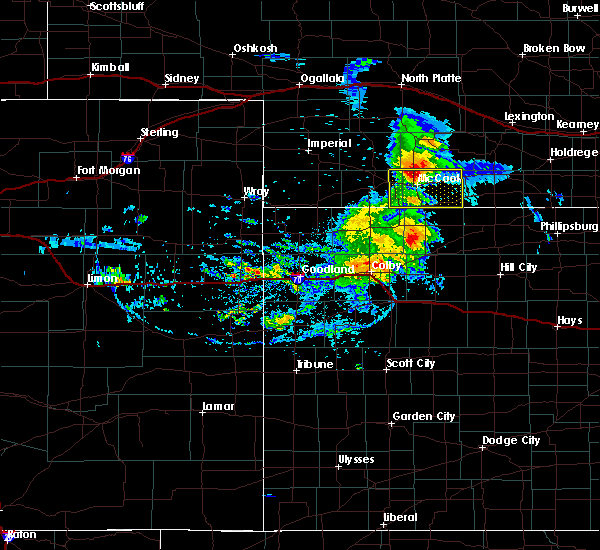 Radar Image for Severe Thunderstorms near Indianola, NE at 8/11/2020 8:22 PM CDT
