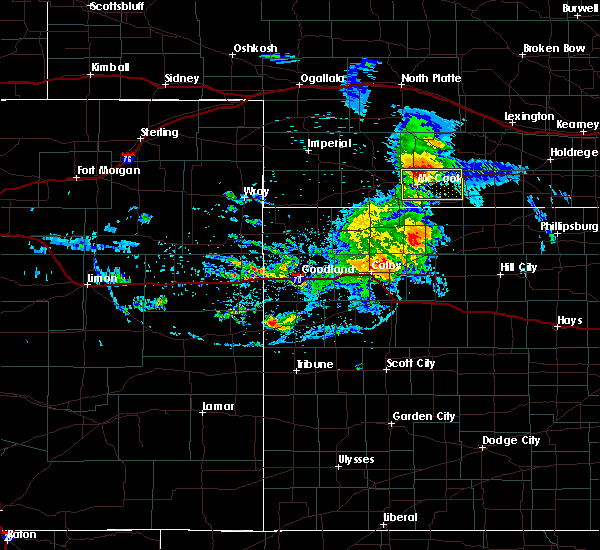 Radar Image for Severe Thunderstorms near Indianola, NE at 8/11/2020 8:26 PM CDT