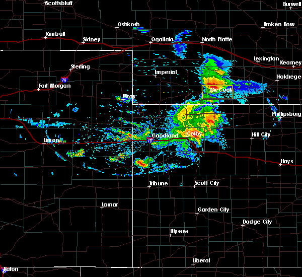 Radar Image for Severe Thunderstorms near Indianola, NE at 8/11/2020 8:33 PM CDT