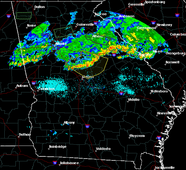 Radar Image for Severe Thunderstorms near Sparta, GA at 7/3/2015 11:18 AM EDT
