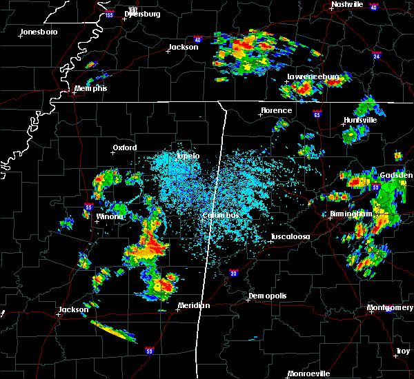 Radar Image for Severe Thunderstorms near Pickensville, AL at 8/12/2020 4:06 PM CDT
