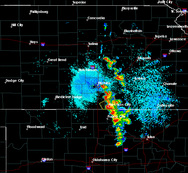 Radar Image for Severe Thunderstorms near Winfield, KS at 8/13/2020 12:33 AM CDT