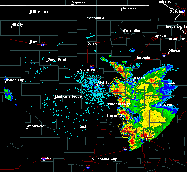 Radar Image for Severe Thunderstorms near Foraker, OK at 8/13/2020 3:07 AM CDT