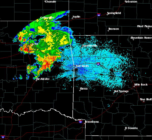 Radar Image for Severe Thunderstorms near Simms, OK at 8/13/2020 5:30 AM CDT
