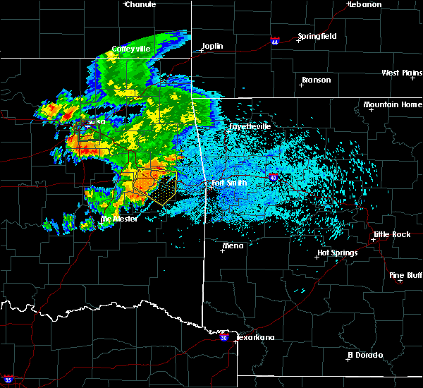 Radar Image for Severe Thunderstorms near Simms, OK at 8/13/2020 5:50 AM CDT
