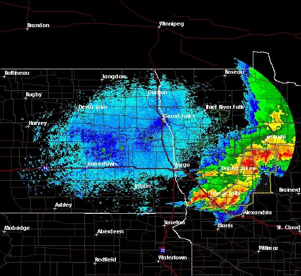 Radar Image for Severe Thunderstorms near Battle Lake, MN at 8/14/2020 12:57 AM CDT
