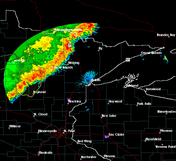 Radar Image for Severe Thunderstorms near Breezy Point, MN at 8/14/2020 1:55 AM CDT