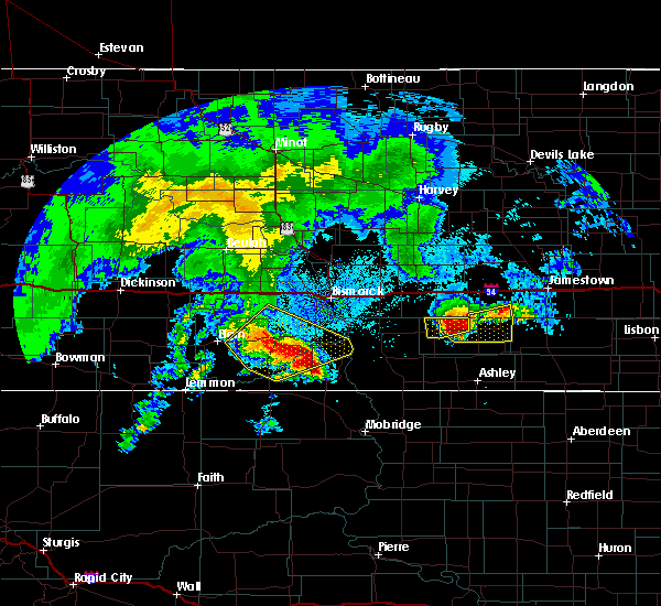 Radar Image for Severe Thunderstorms near Solen, ND at 8/14/2020 5:38 AM CDT