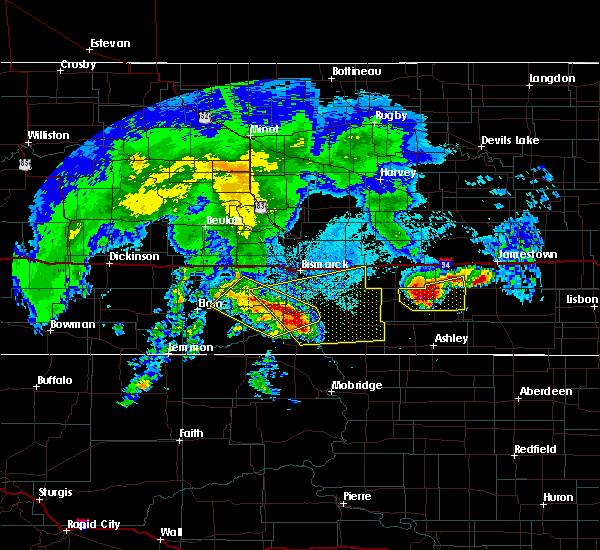 Radar Image for Severe Thunderstorms near Solen, ND at 8/14/2020 5:49 AM CDT