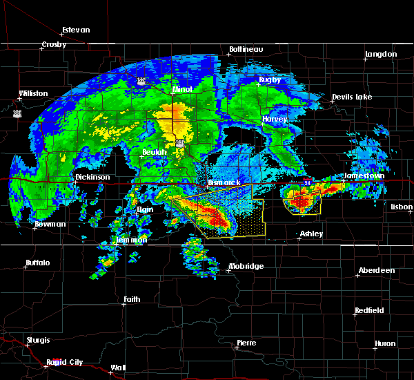 Radar Image for Severe Thunderstorms near Solen, ND at 8/14/2020 6:07 AM CDT