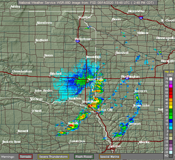 Interactive Hail Maps Hail Map For Sioux City Ia
