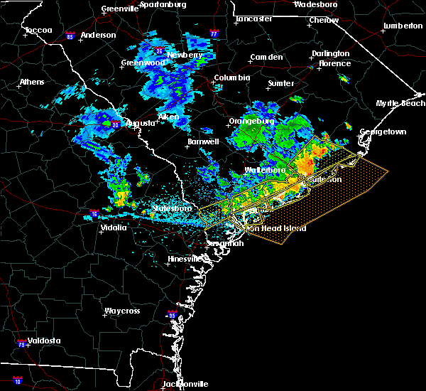 Radar Image for Severe Thunderstorms near Summerville, SC at 7/3/2015 3:01 PM EDT