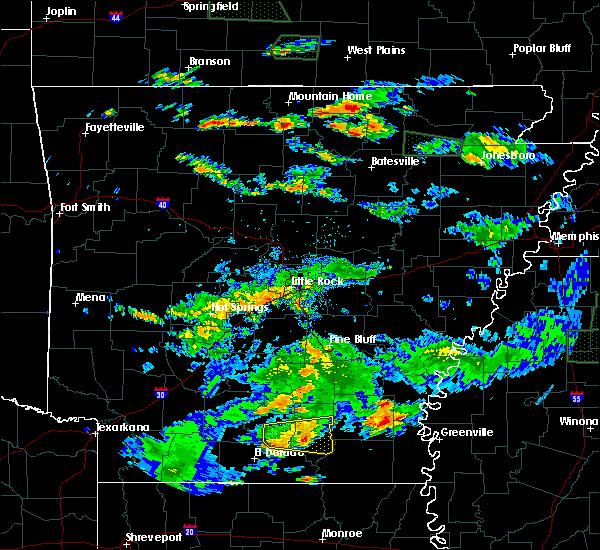 Radar Image for Severe Thunderstorms near Winchester, AR at 7/3/2015 3:21 PM CDT