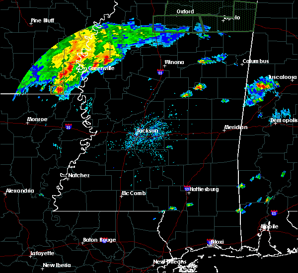 Radar Image for Severe Thunderstorms near Sunflower, MS at 7/3/2015 4:42 PM CDT